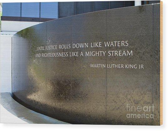 Civil Rights Memorial Wood Print