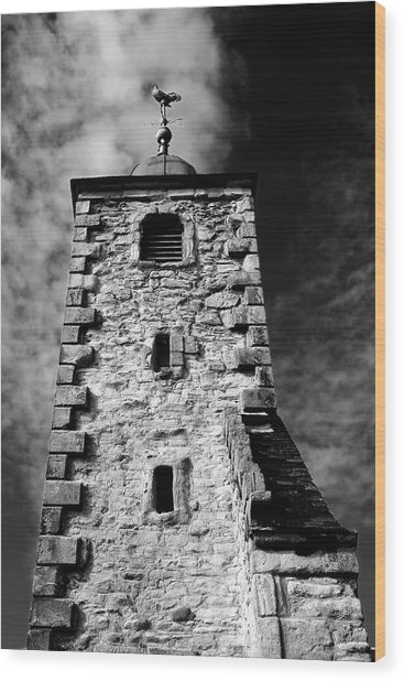 Clackmannan Tollbooth Tower Wood Print