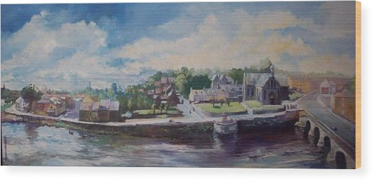 Clancy Strand-limerick-ireland Wood Print