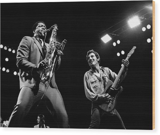 Clarence And Bruce 1981 Wood Print