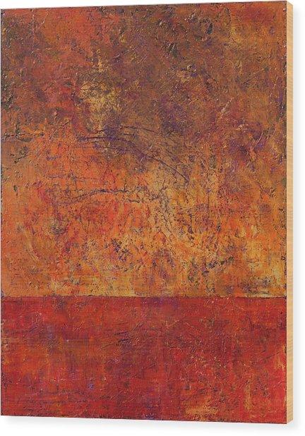 Clash Wood Print