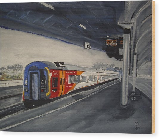 Class 159 Bristol Temple Meads Wood Print