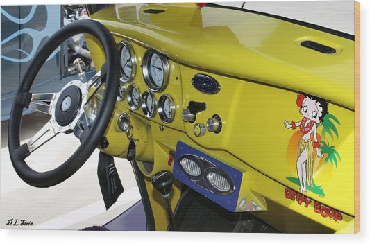 Classic Ford Wood Print by Dennis Stein
