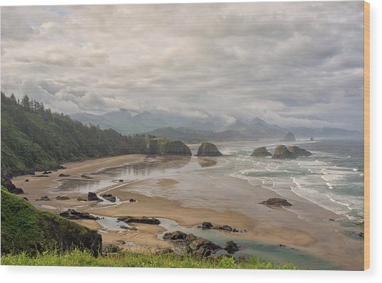 Classic Oregon Coast Wood Print