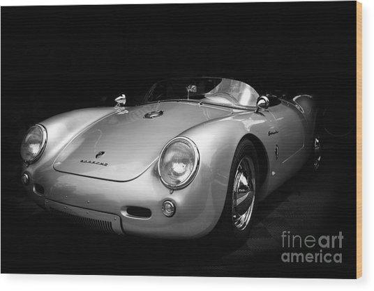 Classic Porsche Wood Print