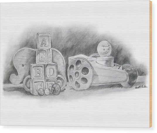 Classic Wooden Toys Wood Print