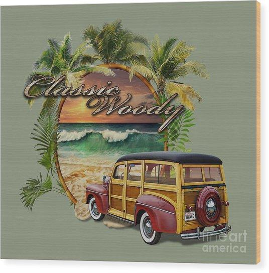 Classic Woody Wood Print