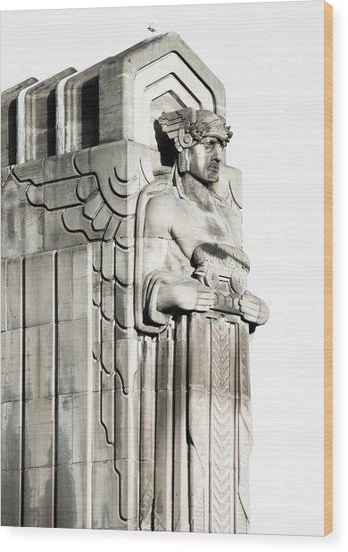 Cleveland Icon Wood Print