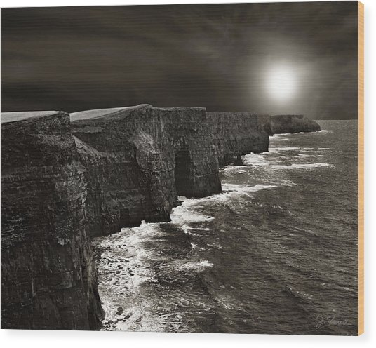 Cliffs Of Moher No. 2 Wood Print