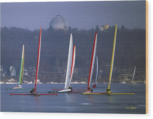 Close Encounters - Lake Geneva Wisconsin Wood Print