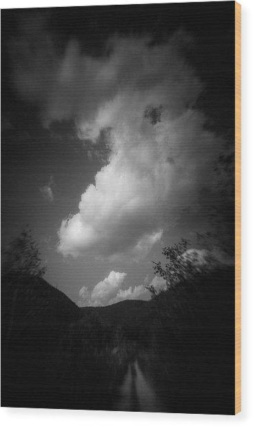Cloud #2186 Wood Print