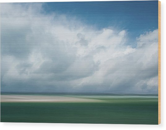 Cloud Bank Over Chatham Wood Print
