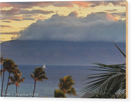 Clouds On The Mountain Top Wood Print by Nicole I Hamilton