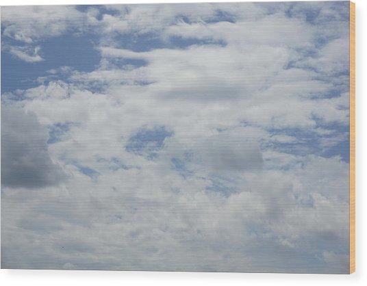 Clouds Photo IIi Wood Print
