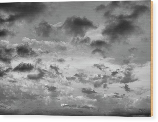 Cloudscape No. 5 Wood Print