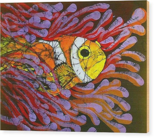Clownfish I  Wood Print