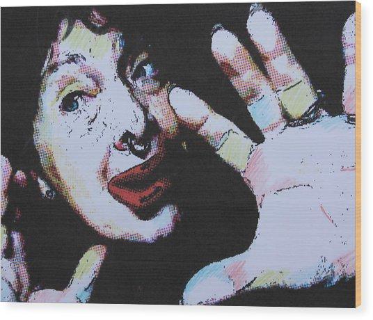 Clowning Around Wood Print