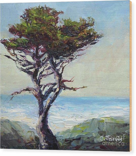 Coast Cypress Wood Print