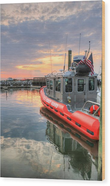 Coast Guard Anacostia Bolling Wood Print