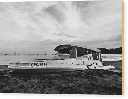 Coast Guardin  Wood Print