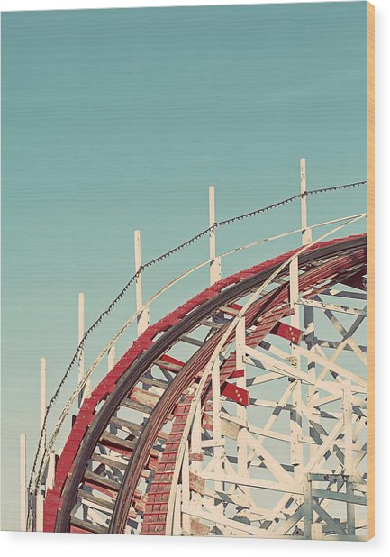 Coast - California Coaster Wood Print