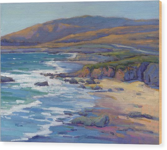 Coastal Cruising 8 / San Simeon Wood Print