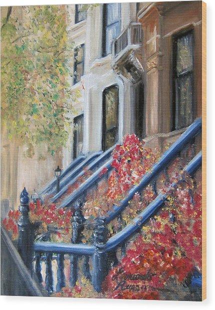 Cobble Hill Wood Print