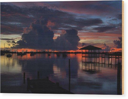 Cocoa Bay Wood Print