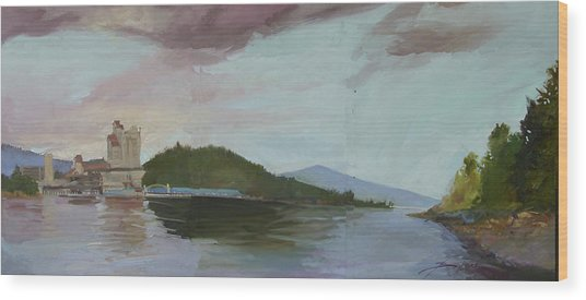 Coeur D Alene Lake    North  Idaho Wood Print