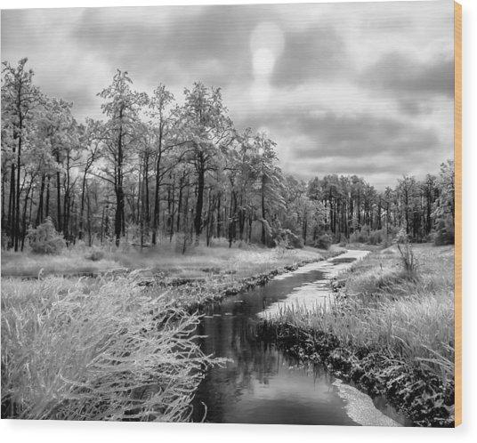 Cold Creek Wood Print