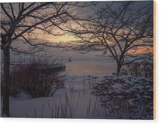 Cold Fingers Wood Print