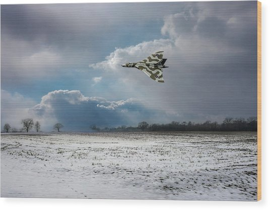 Wood Print featuring the photograph Cold War Warrior by Gary Eason