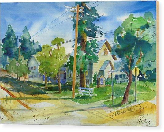 Colfax Methodist Church Wood Print