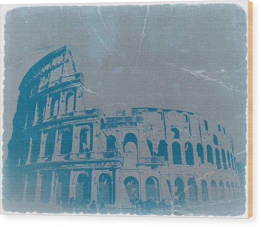Coliseum Wood Print