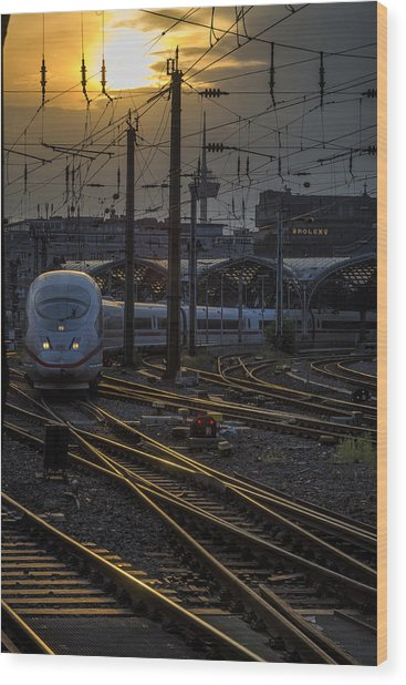 Cologne Central Station Wood Print