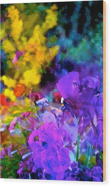 Color 102 Wood Print