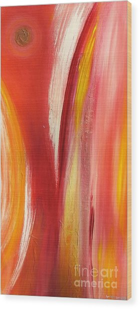 color and passion B Wood Print by Mimo Krouzian