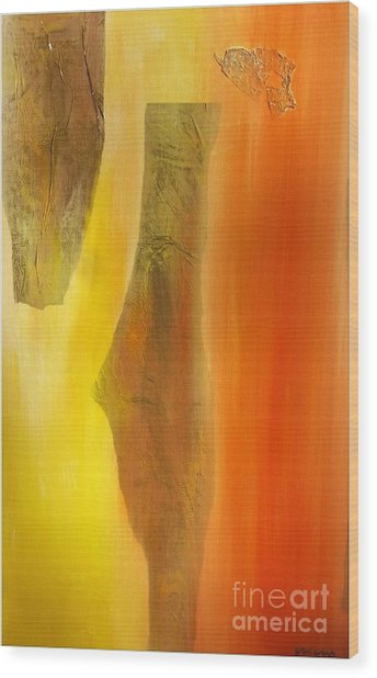 color and passion C Wood Print by Mimo Krouzian