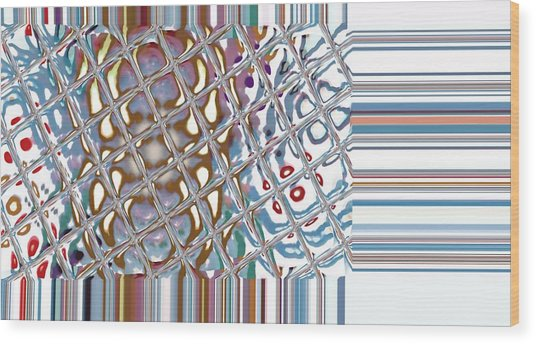 Color Crystal Wood Print by Thomas Smith