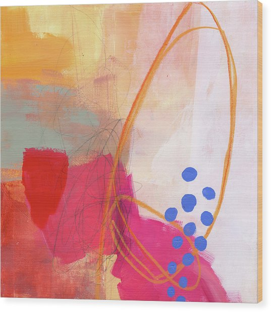 Color, Pattern, Line #2 Wood Print