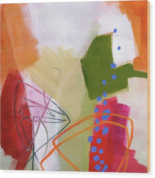 Color, Pattern, Line #4 Wood Print