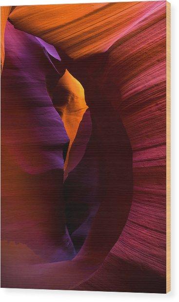 Color Portal Wood Print