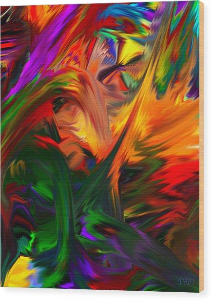 Color Reality B4 Wood Print