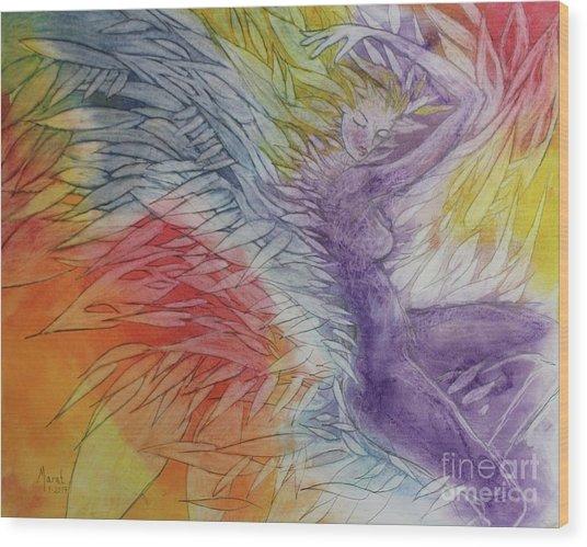 Color Spirit Wood Print
