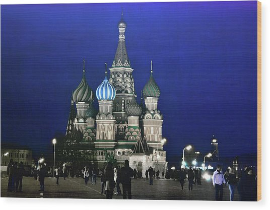 Color The Night Wood Print by JAMART Photography