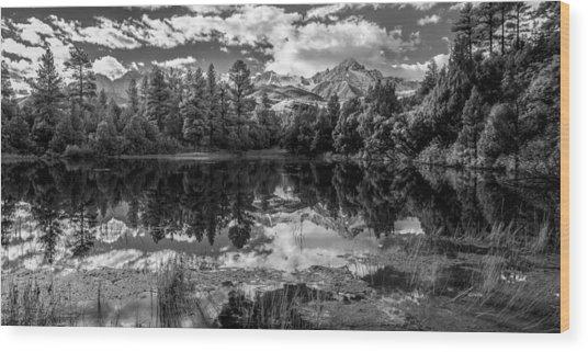 Colorado Calm Wood Print