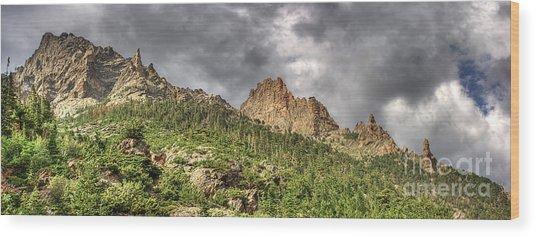 Colorado Ridgeway Wood Print
