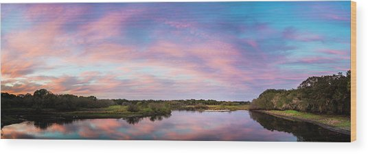 Colorful Sky Wood Print