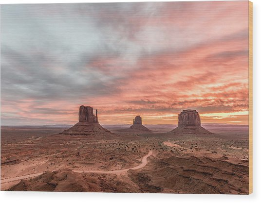 Colors In Monument Wood Print