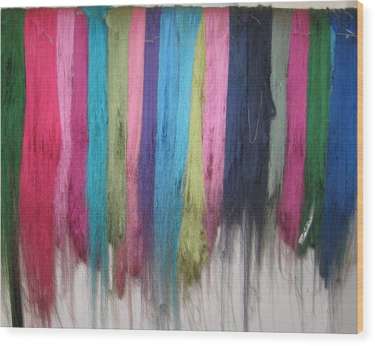 Colors Of Cashmere Wood Print
